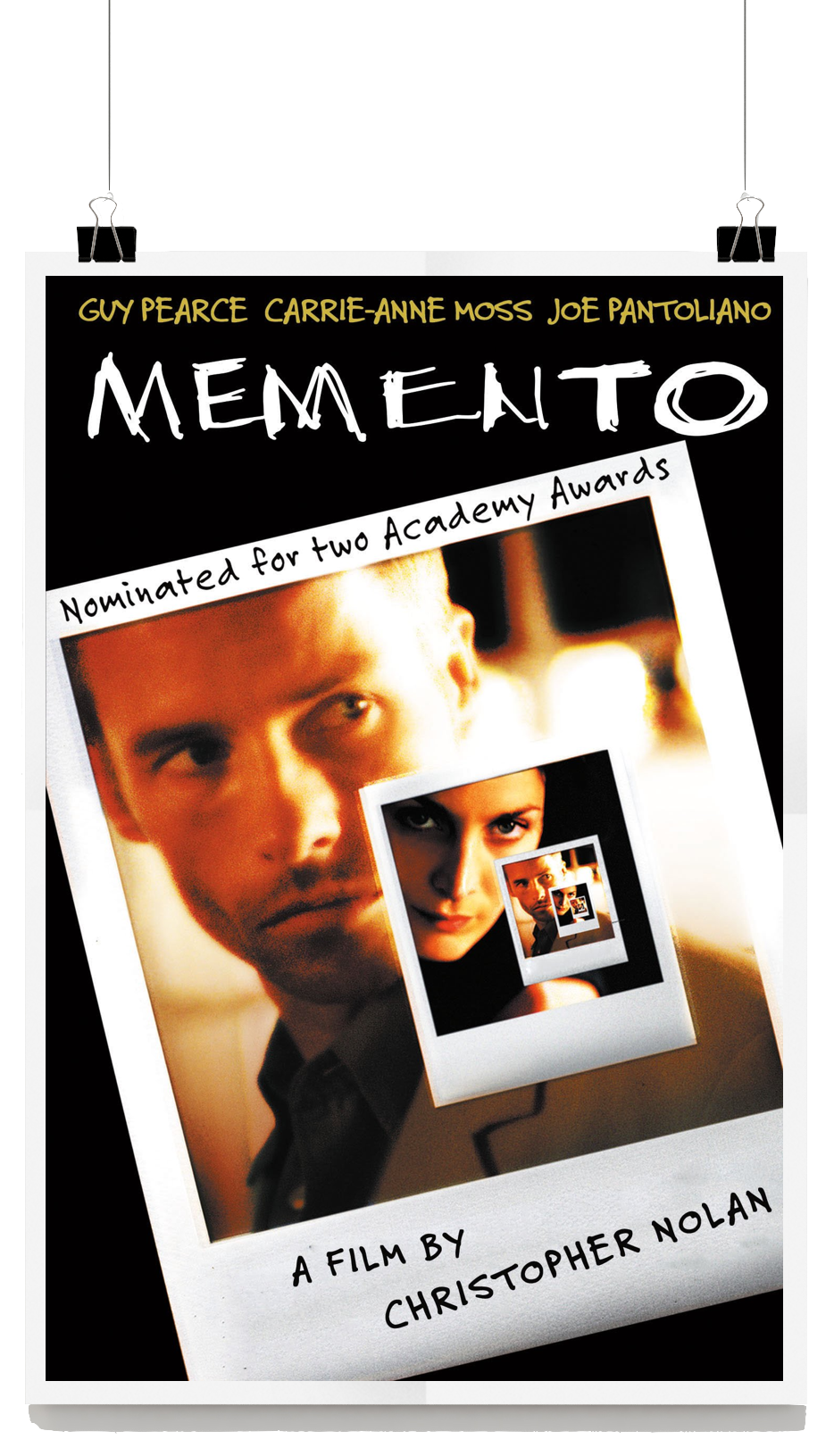 amnesia in memento directed by christopher nash Christopher nolan's memento is an intricate, original, fascinating thriller, hailed by philip french of the observer as 'one of the year's most exciting pictures' its protagonist leonard (guy pearce) is a puzzle, even to himself.